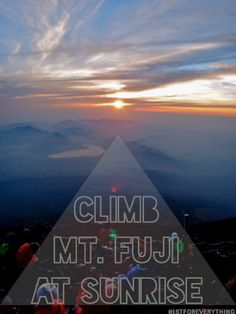 Climbing Mt Fuji in One Day on a Budget... The highlight of my Storybook trip. Have you been, @Expedia? :)