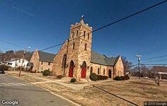 St. Luke's Episcopal Church in Rockingham County, North Carolina.