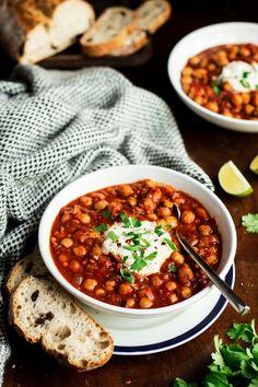 vegan chickpea stew lablabi lunch