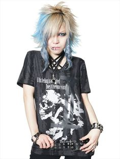 CANNOT BE SEEN BLACK OUT Cutsew (S) SA68253-109 SEX POT ReVeNGE APPAREL. See more at: http://www.cdjapan.co.jp/apparel/ #punk #japanesefashion