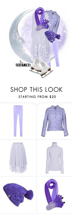 """""""So Cute: Ice Skating Style contest"""" by benzin ❤ liked on Polyvore featuring Annie P., Prabal Gurung, Riedell, The North Face, women's clothing, women, female, woman, misses and juniors"""