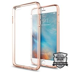 332f09e5fb0 Let our Ultra Hybrid® case protect your iPhone 6s Plus in clear transparency.  The. Spigen Inc