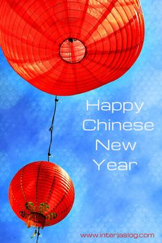 It's The Chinese New Year ! 中国新年 - Interjas Logistics