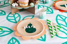 WLKMNDYS // Happy Monday DIY // Flower Pops Partytisch