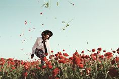Oyster Fashion: Blossom Boxer Shot by Amanda Charchian Starring Langley Fox Hemingway