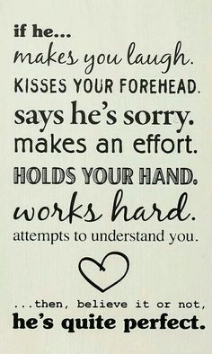 Describes my man. I am soo blessed.