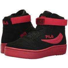 4dd226eb0840 Fila FX-100 (Black Fila Red) Men s Shoes ( 100) ❤
