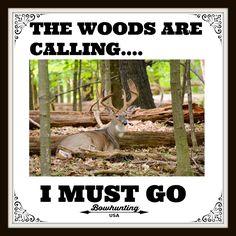 #BOWHUNTING #WOODS #MUSTGO