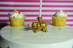 Golden Elephant Candle Holder by TonysDinostore on Etsy