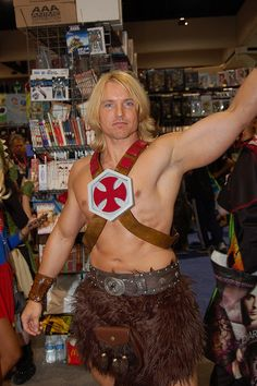 He-man; Comic Con 2010: Master of the Universe by earthdog, via Flickr. View more EPIC cosplay at http://pinterest.com/SuburbanFandom/cosplay/