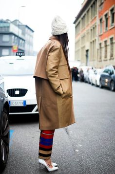 Van Arendonk loves #oversized #coat