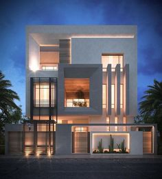Modern Architecture Building Ideas To Inspire You What is the architecture building? In this modern era, we have the biggest trend in modern architecture design. Read Modern Architecture Building Ideas To Inspire You Modern Villa Design, Modern Architecture Design, Modern Buildings, Building Architecture, Amazing Architecture, Design Exterior, Facade Design, Modern Exterior, Modern Architects