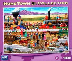 HOMETOWN COLLECTION Driving the Gold Spike 1000 Piece Jigsaw Puzzle HOMETOWN COLLECTION http://www.amazon.com/dp/B003CMHY5C/ref=cm_sw_r_pi_dp_9Ymnub16QTHFS