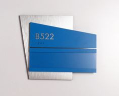 Fusion ADA Interior Room ID with Updateable Insert.  #signage #wayfinding