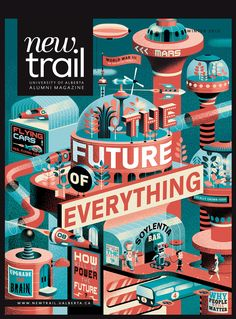 New Trail - The future of everything - Gwen Keraval illustration