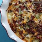Easy Potato and Bacon Breakfast Casserole