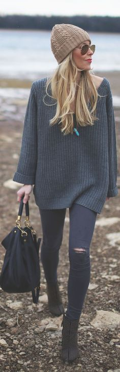 oversized sweater <3