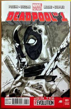 Deadpool by Jason Pearson *
