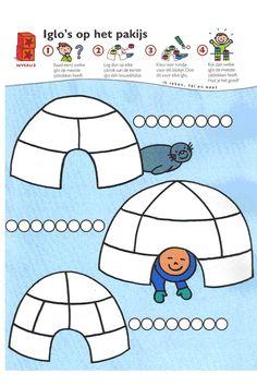 * Rekenen: iglo's op het pakijs