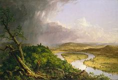 The Hudson River School was a mid-19th century American art movement embodied by a group of landscape painters whose aesthetic vision was influenced by romanticism.