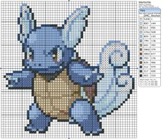 Pokémon – Wartortle Birdie's Patterns, Gaming, Pokémon, U - Z, Wartortle 0 Comments Jan 292014