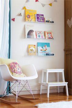 #DIY Clear Nursery #Shelves