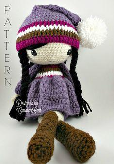 Irene++Amigurumi+Doll+Crochet+Pattern+PDF+por+CarmenRent+en+Etsy