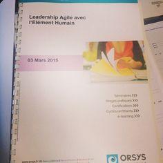 #Orsys Tour 2015 : les #conférences gratuites commencent aujourd'hui avec Le #Leadership #Agile par @BéatriceDewandre #confagileh #paris #ladefense #instadaily Suivez #orsys sur #Instagram : https://instagram.com/orsysformation/