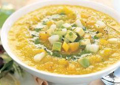 Yellow Gazpacho   Vixi Meals