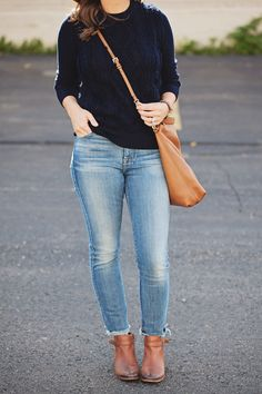 jillgg's good life (for less)   a style blog: my everyday style: simple fall outfit!