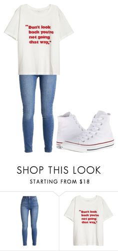 """""""Untitled #323"""" by thenerdyfairy on Polyvore featuring Converse"""