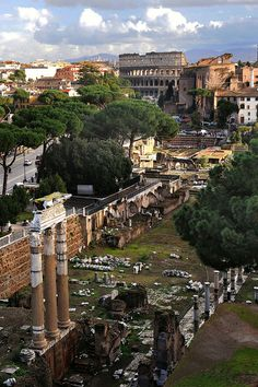 Ancient Rome. We walked through this. It is thrilling to realize one is walking through history.