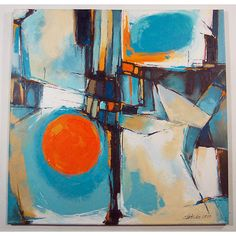 Abstract Paintings by Artist Boski Sztuka is part of Art painting Modern - These abstract Paintings by Artist Boski Sztuka are inspired by the stylings of some mid century artists but I feel that Boski has an amazing style Modern Art Artists, Figurative Kunst, Contemporary Abstract Art, Artist Painting, Abstract Paintings, Modern Art Paintings, Hanging Art, Abstract Expressionism, Painting Inspiration