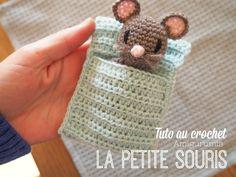 La petite souris - Tuto amigurumi au crochet laine bébé mérinos Atelier de la création