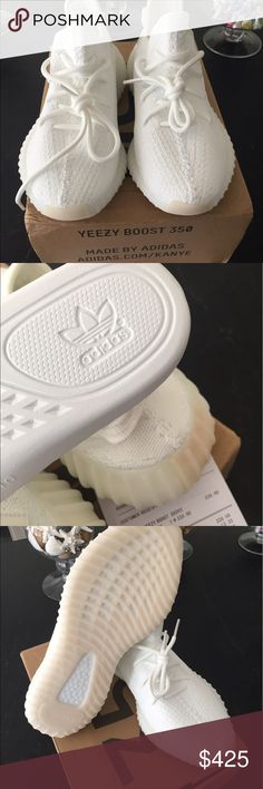 Yeezy Boost 350 (Triple White) size 13 For sale is a pair of 100% authentic Yeezy Boost 350 with original receipt and box. These have never been worn and are men's size 13 Yeezy Shoes Sneakers