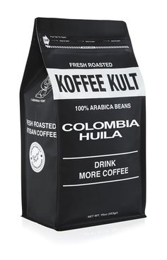 Koffee Kult Coffee Beans Colombian Huila - Highest Quality - Whole Bean Coffee Beans Medium Roasted - Fresh Roasted Roasted Colombian (5 pound) - Packaging May Vary ** Stop everything and read more details here! : Fresh Groceries