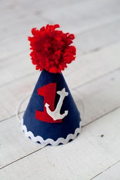Boys Blue Nautical Sailor Themed Birthday Party by LilyJudeDesigns, $18.00