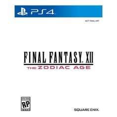 Final Fantasy XII: The Zodiac Age - PlayStation 4