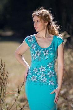 Šaty - Maľba na šaty... - 3868650_
