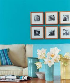 Hang a Gallery of Photos   Ideas that call for a little imagination, and little…