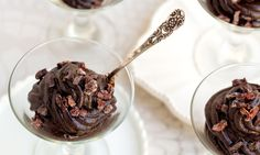 Chocolate Pudding with Cacao Nibs