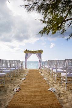 Beautiful Beach Wedding in The Turks & Caicos Islands