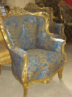 Barok on pinterest baroque rococo and chairs - Stoel dineren baroque ...