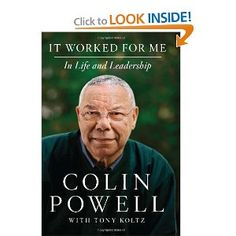 "Powell's short but sweet rules for leadership—among them, ""Get mad, then get over it"" and ""Share credit""—are illustrated by revealing personal stories that introduce and expand upon his principles for effective leadership: conviction, hard work, and, above all, respect for others. In work and in life, Powell writes, ""it's about how we touch and are touched by the people we meet. It's all about the people."""
