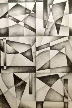 Achetez Wassily Abstracted, un dessin au graphite sur papier, de Tiffany Budd de United . Achetez Wassily Abstracted, un dessin au. Abstract Pencil Drawings, Graphite Drawings, 3d Drawings, Abstract Art, Sketchbook Drawings, Drawing Faces, Pencil Drawing Tutorials, Art Tutorials, Drawing Skills