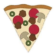 family glyph using pizza