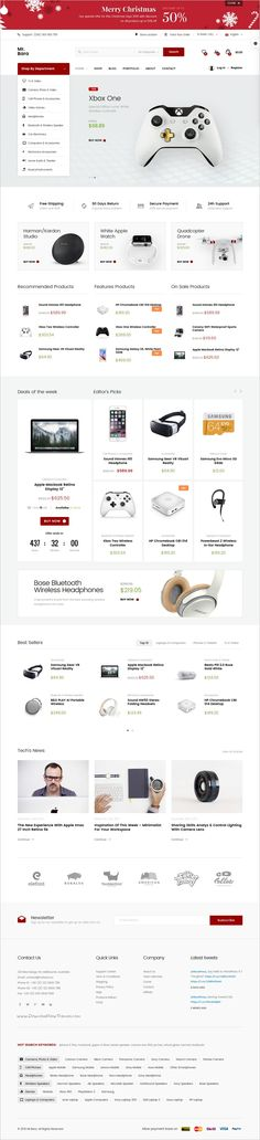 MrBara is an unique and modern #WooCommerce #WordPress theme for #tech #store awesome eCommerce website with 40+ unique homepage layouts download now➩ https://themeforest.net/item/mrbara-responsive-multipurpose-ecommerce-wordpress-theme/17336192?ref=Datasata