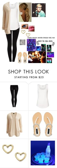 """""""Planning Ryland's surprise party w/ Ross"""" by rosslynch-1145 ❤ liked on Polyvore featuring Paige Denim, Witchery, VILA, Forever New and Marc by Marc Jacobs"""