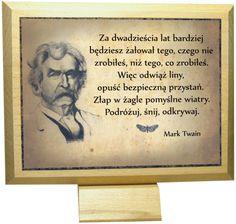 """Mark Twain """"Za dwadzieścia lat..."""" w Euric. na DaWanda.com"""