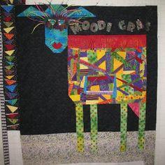 Kim B's COW quilt!